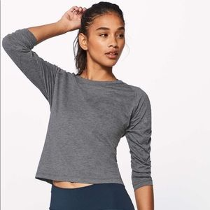 Lululemon Box It Out Long Sleeve/Slit back